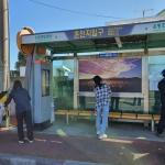성산읍, 버스 승차대 불법광고물 제거