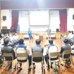 제주소년원, 농구국가대표 초청 '스포츠스타 체육교실' 진행