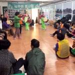 늘푸른봉사회, 노인복지회관서 공연 봉사활동 실시