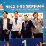 제39회 전국장애인체전 사전경기, 제주선수단 메달 '순항'