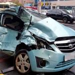 제주, 버스·승용차 충돌...12명 부상