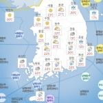 [내일 날씨] 서리 내리는 '상강', 남부지방 대체로 흐림...제주, 가끔 빗방울