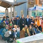 제주올레, 대만 우정의 길 기념식...'걷는 길을 통한 국제교류'