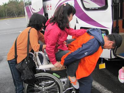 2012년 하반기 장애인과 비장애인이 함께하는 스토리 기행, '열 사람의 한 걸음'