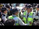 해군기지 공사현장서 주민-경찰 충돌...활동가 2명 연행